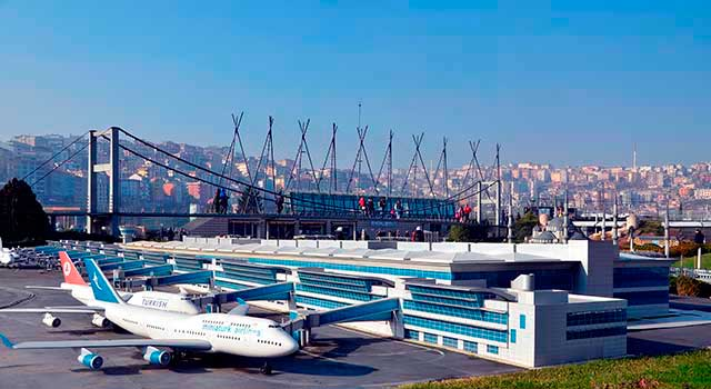 Atatürk Airport served 61 Million passengers in 2015.